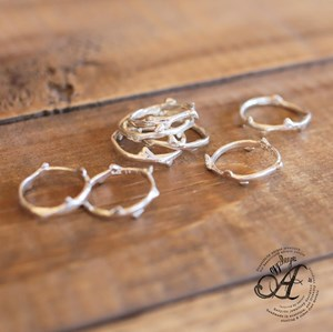 Stacker Ring- Budding Twig