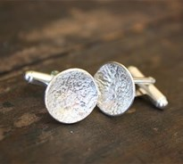 Reticulated cufflinks
