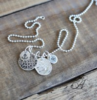 Anchor cluster set with letter of your choice