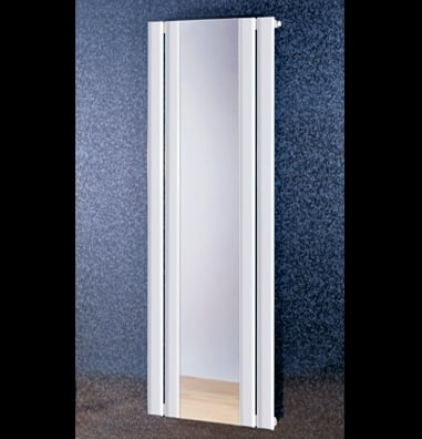 Matrix mirror radiator in ral colours for wet systems by for Mirror radiator
