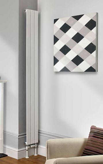 The Radiator Company Water Lily Single Vertical Designer