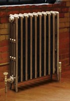Victorian 760 - 4 Column Cast Iron Period Radiator In Painted By Carron Radiators at Jig