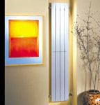 Decoral Hi vertical aluminium radiator by MHS Radiators