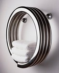Bisque Hot Hoop Stainless Steel Radiator with Mirror Finish