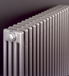 Bisque Classic Floor Mounted Designer Radiator in Colour