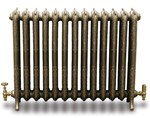 Rococco/Windsor780 3 Column Period Radiator In Painted By Carron Radiators at Jig