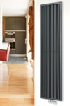 Brolin Radiators Falun Vertical Framed Tube Radiator