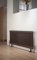 Ancona 3 Column Period Radiator in White by The Radiator Company