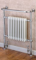 Cheshire Radiators Davenham Classic Towel Rail with Steel 3 Column Radiator