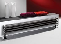 MHS Zenon Plinth Horizontal Steel Radiator by MHS Radiators