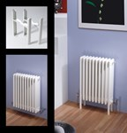 Multisec 2 Column 592mm Height Classic White Multi Column By MHS Radiators