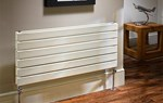 The Radiator Company Picchio Double Horizontal Designer Radiator in Colour