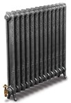 Rococco/Windsor 950 - 1 Column - Period Radiator - Full Polish By Carron Radiators at Jig