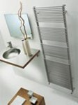 BD 13 Single Towel Radiator in white By The Radiator Company