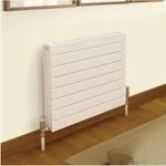 Quinn Slieve 650mm High Single Horizontal Radiator 500mm-2000mm Width