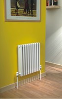 Ekos 9576 768mm high x 95mm deep aluminium section radiator by The Radiator Company