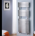 Aquila Designer Towel Rail for wet systems by MHS Radiators
