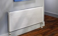 The Radiator Company Trim Single Designer Horizontal Radiator in Colour