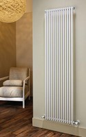 The Radiator Company TRC25 Vertical Single Tubular Radiator in White