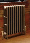 Victorian 810 Column Period Cast Iron Radiator In Antique/Highlighted By Carron Radiators at Jig