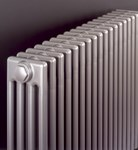 Bisque Classic Floor Mounted Designer Radiator in Anthracite Finish