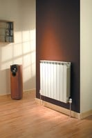 Mix79 790mm height designer aluminium sectional radiator by The Radiator Company