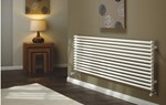 The Radiator Company TRC25 Horizontal Single Tubular Radiator in White