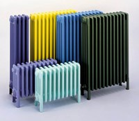 Bisque Classic 2W Vertical or Horizontal Multi Column Wall Radiator with Anthracite Finish
