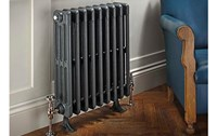 The Radiator Company Bianco 4 or 6 Column Designer Radiator in Primer