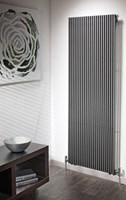The Radiator Company Trim Single Designer Vertical Radiator in White