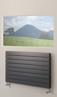 Brolin Radiators Malmo Duo Horizontal Flat Panel Radiator