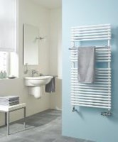 The Bagnotherm ladder style towel rail by Kermi.