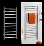 Alara ladder style towel rail available for wet system, dual fuel or electric only by MHS