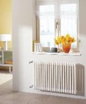 The column wall mounted radiator classic design by Kermi.