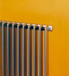 Bisque Finn FN60-77 Horizontal Radiator with Aluminium Finish