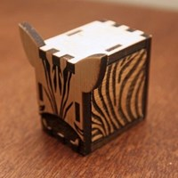 Zebra Music Box