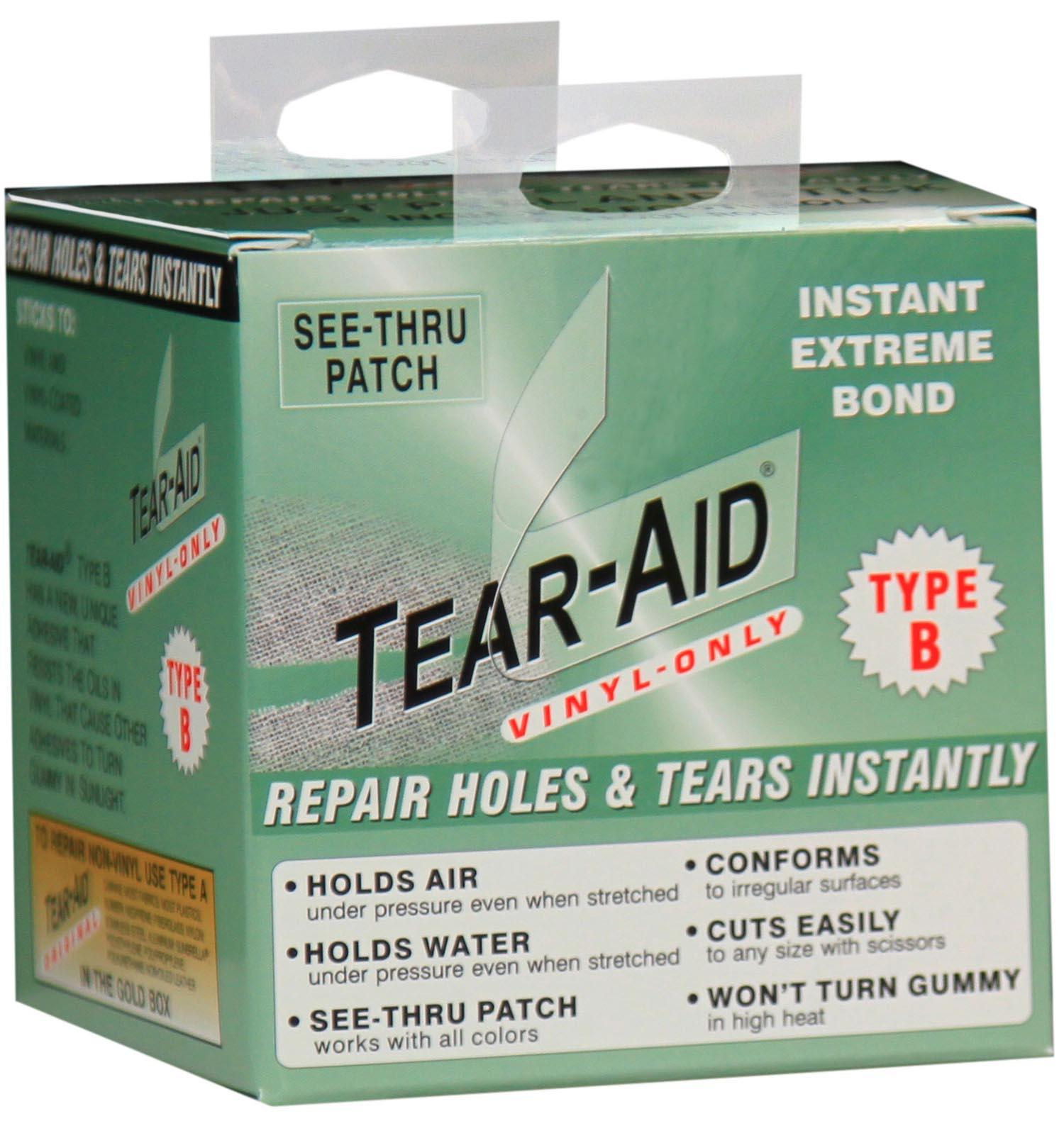 tear aid type a instructions