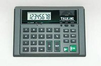 Low Sight Aid - Talking Calculator - Big Button