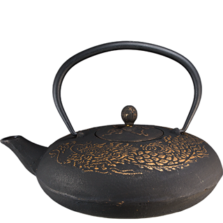 Teapot - Golden Dragon
