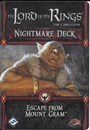The Lord of the Rings: The Card Game - Escape from Mount Gram (Nightmare Deck)