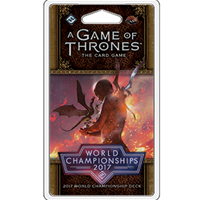 A Game of Thrones: The Card Game (Second Edition) - 2017 Joust World Championship Deck