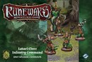 Runewars Miniatures Game: Latari Elves Infantry Command - Unit Upgrade Expansion