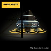 PTSF410M7 Voice Warning and LED M7 display - Front Parking Assist System