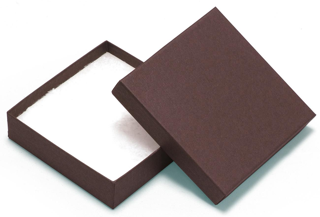 Chocolate Gift Boxes Packaging Uk : Square kraft recycled chocolate jewellery box