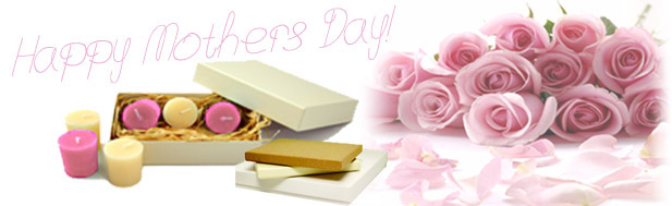 Gift Ideas and Packaging for Mother's Day.