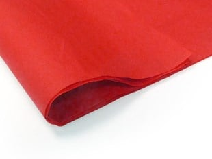 Recycled Red Tissue Paper - 240 sheets (S) (TPRED03)