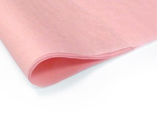 Recycled Light Pink Tissue Paper - 240 sheets (L)