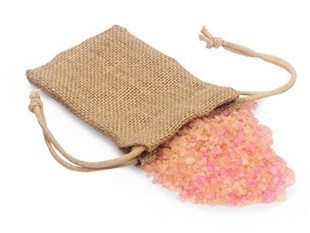 Small Natural Jute Bag With Drawstring 7.5 x 12.7cm - Pack of 12 (NAB35)