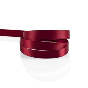 Cranberry Satin Ribbon 10mm | Double Faced Satin Collection