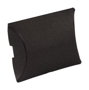 Small Black Matt Pillow Box 50 x 45 x 10mm (PCBLSM)